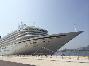 国内最大のクルーズ客船「飛鳥Ⅱ」