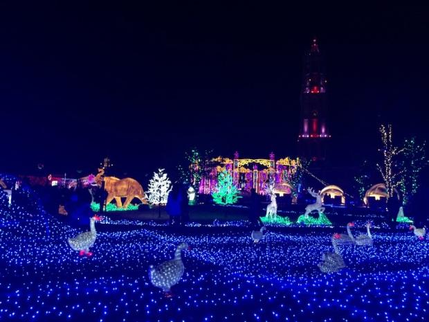 ハウステンボスのイルミネーション「光の王国」
