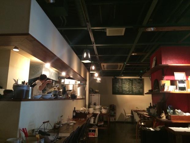 Cafe de Lucca(カフェ ド ルッカ)店内
