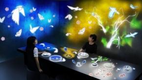 チームラボによる「未来の有田焼があるカフェ」