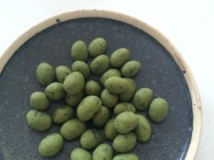うれしの緑茶ホワイトチョコレート大豆(600円+税)