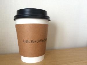 Light Way Coffee Standのラテ