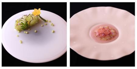 やま平窯 「ピュア」「プレデザート皿」