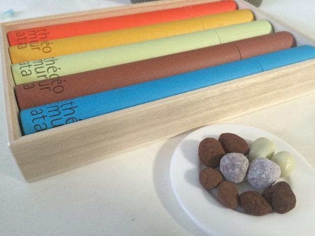テオムラタ(無量塔)のチョコレートビーンズ